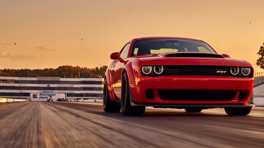 Dodge Challenger SRT Demon, così potente che impenna [VIDEO]