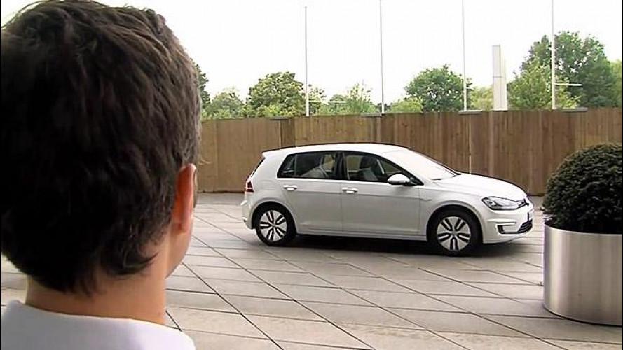 V-Charge, l'auto elettrica parcheggia da sola
