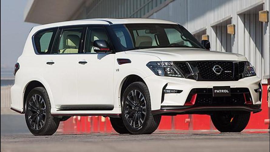 Nissan Patrol Nismo, roba da ricchi