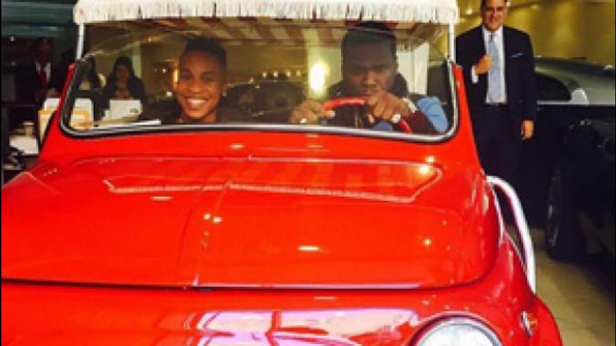 [Copertina] - 50 Cent al volante di una Fiat 500