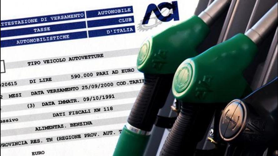 Abolizione bollo auto, ecco la proposta al sapore di accise