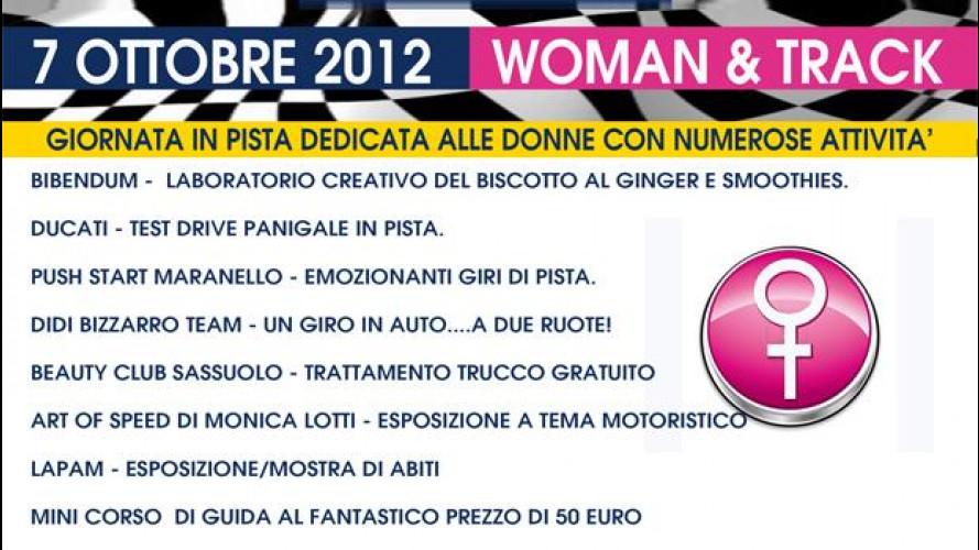 Woman & Track, le donne scendono in pista all'Autodromo di Modena