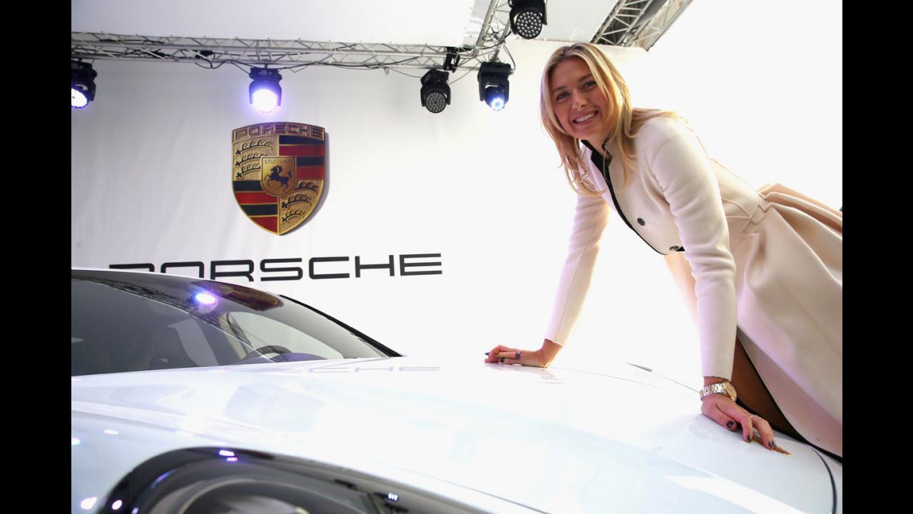 Maria Sharapova dan Porsche memiliki perjalanan kerja sama yang cukup panjang