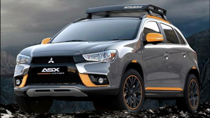 Mitsubishi Geoseek concept, la ASX più sportiva di sempre [VIDEO]