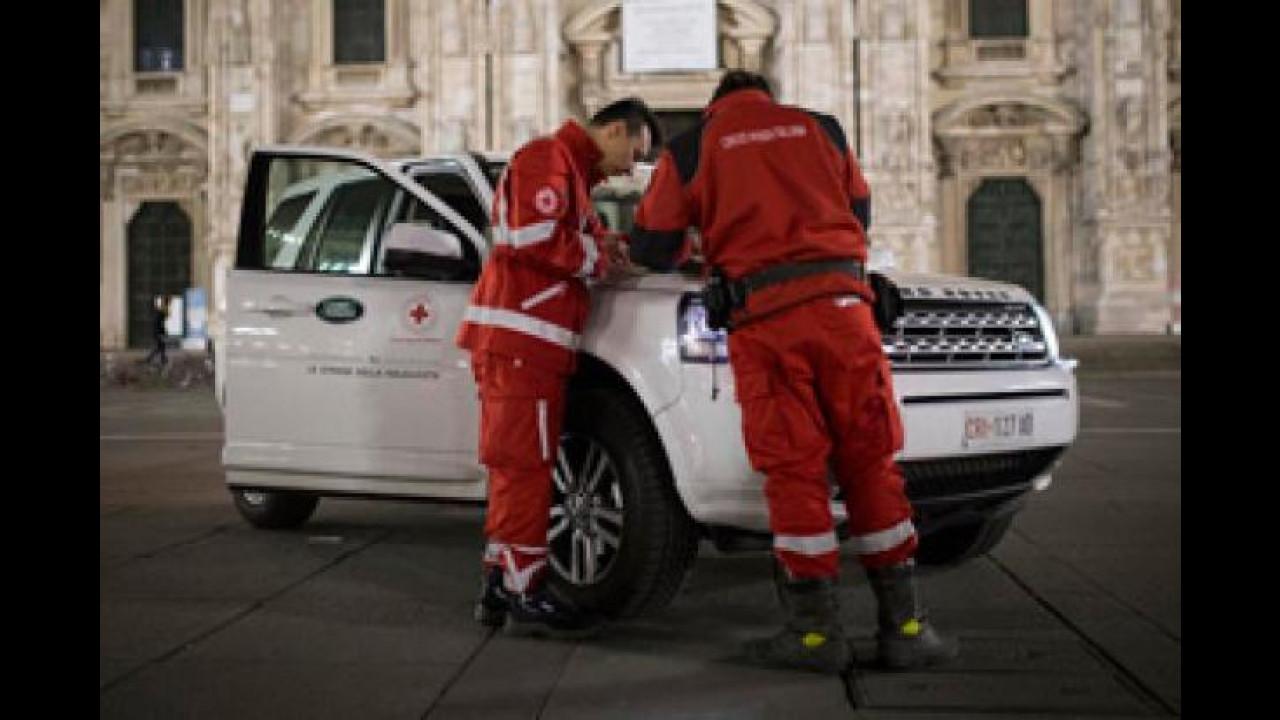 """[Copertina] - Land Rover offre il """"Pasto della Solidarietà"""""""