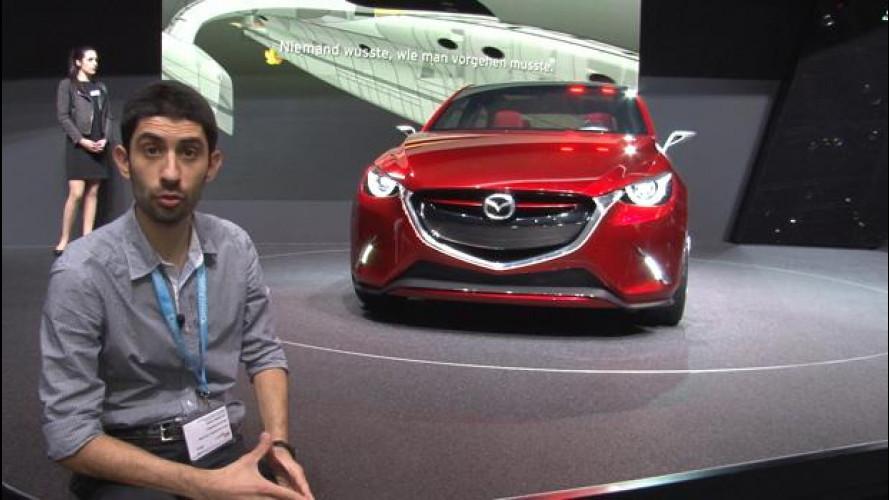 """Mazda Hazumi concept, giapponese da """"scoprire"""""""