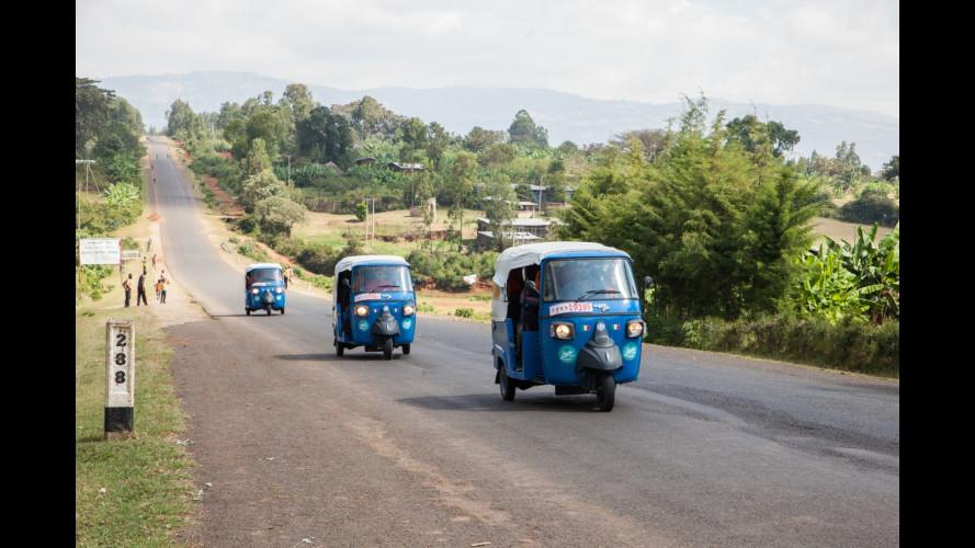 Etiopia in Tuk Tuk, l'incredibile viaggio di 11 giovani italiani