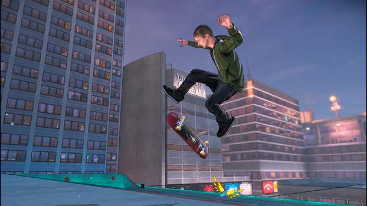 [Copertina] - Con Tony Hawk's Pro Skater 5 sfidi la fisica con tavola e ruote speciali