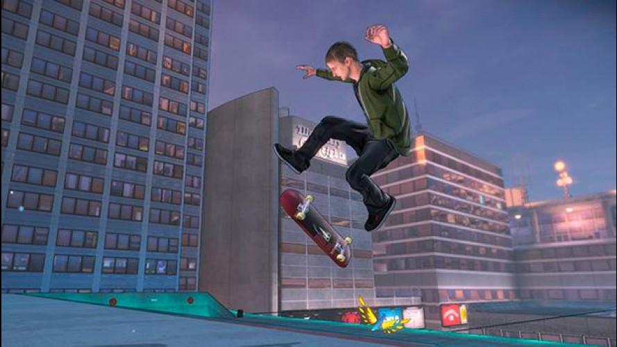 Con Tony Hawk's Pro Skater 5 sfidi la fisica con tavola e ruote speciali