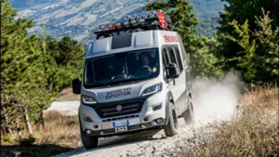 Fiat Ducato 4x4 Expedition, super-camper da off road