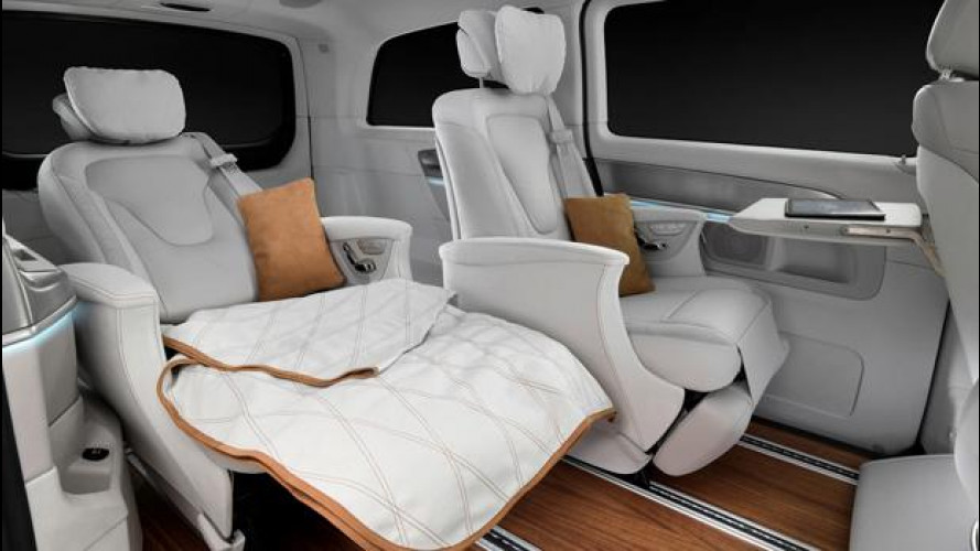 Salone di Ginevra: Mercedes Vision e, loft di lusso