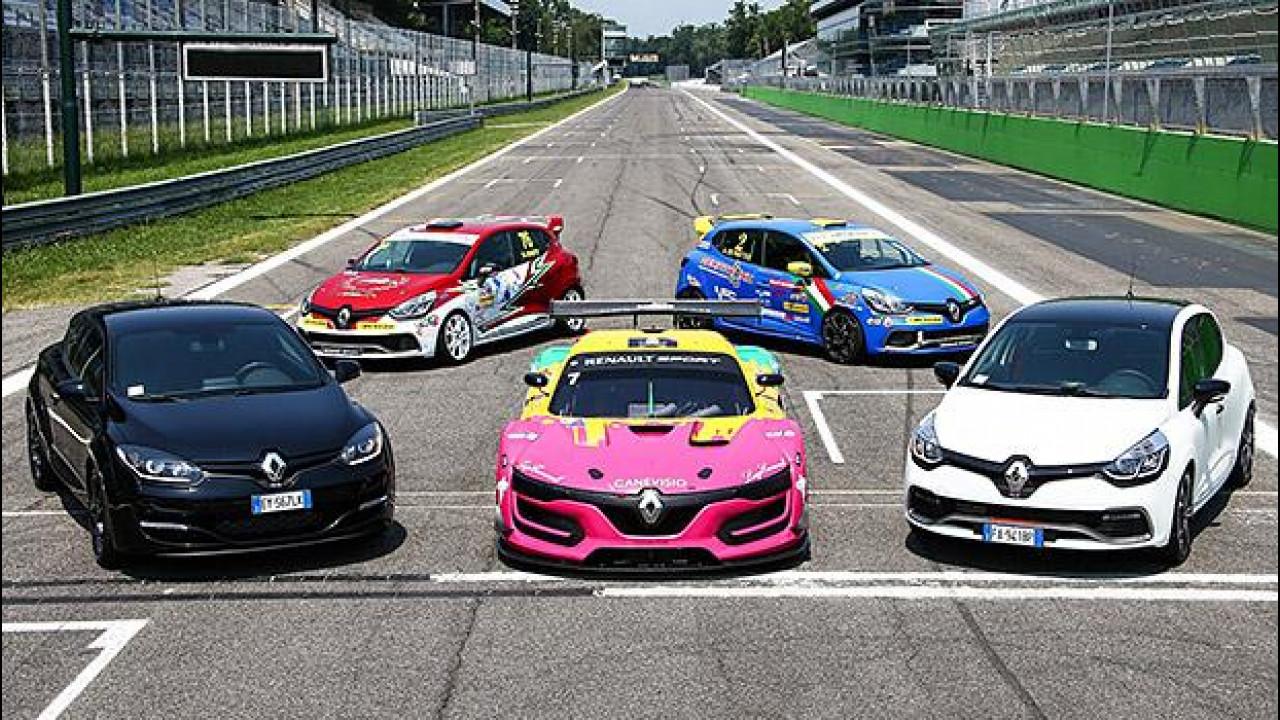 [Copertina] - Renault Sport, a Monza per un'overdose di adrenalina