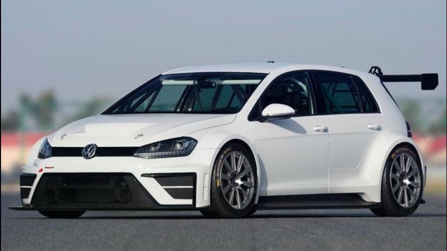 VW Golf, 330 CV per la pista