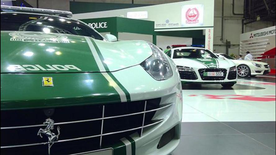 Il garage della Polizia di Dubai: ecco perché comprano le supercar