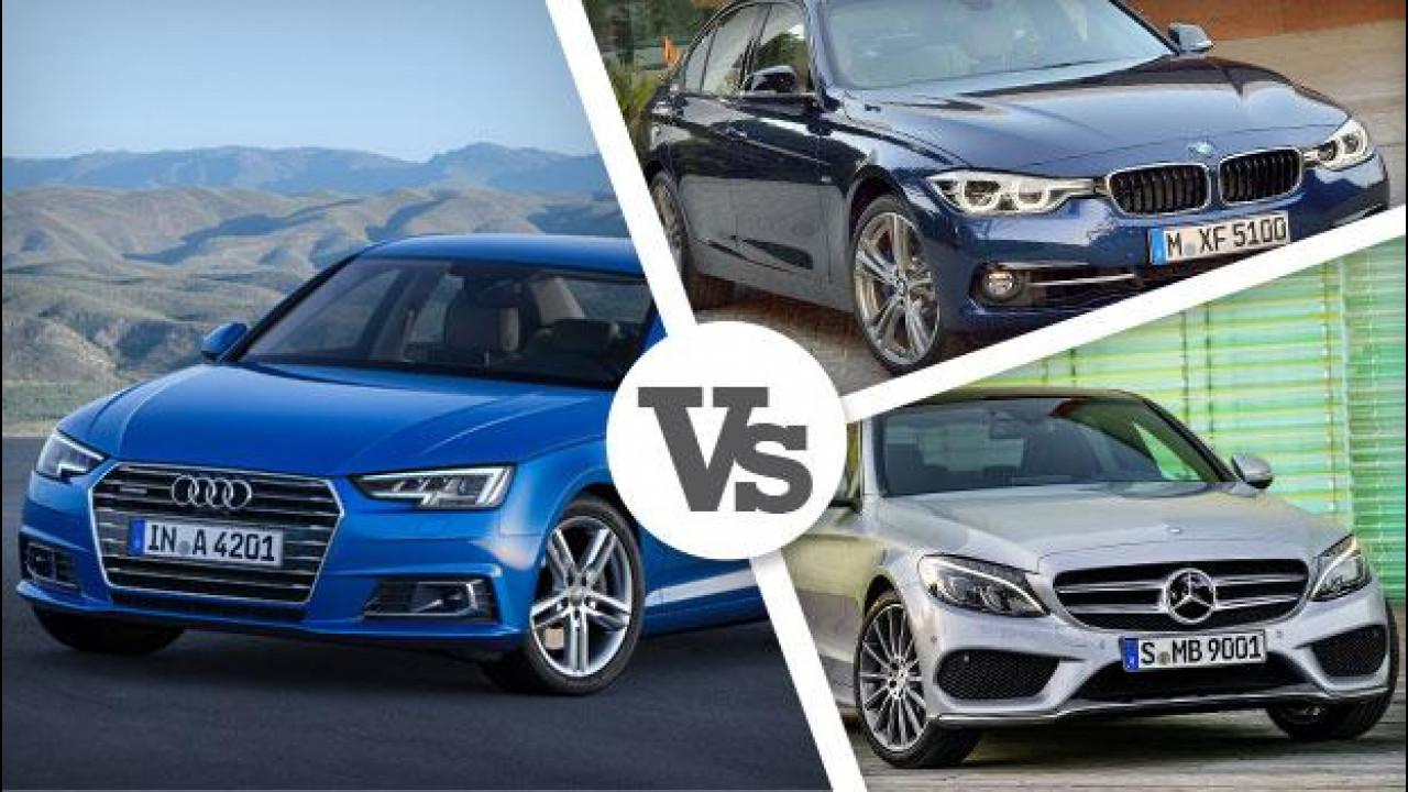 [Copertina] - Nuova Audi A4, i prezzi e le concorrenti