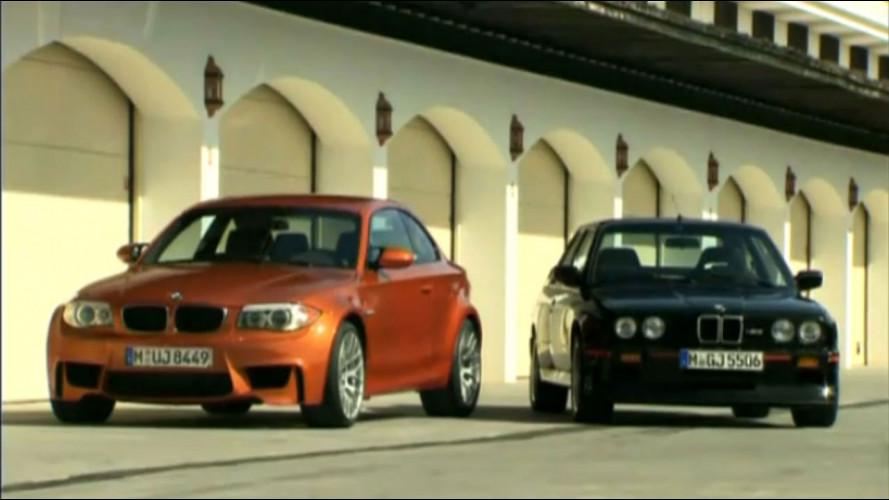 """BMW Serie 1 M Coupe - M3 E30: il video della """"sfida"""""""
