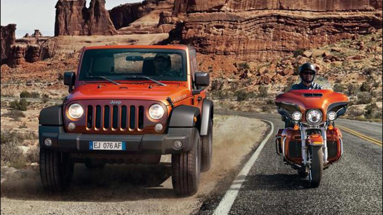 [Copertina] - Jeep e Harley-Davidson, alleati per il 2014