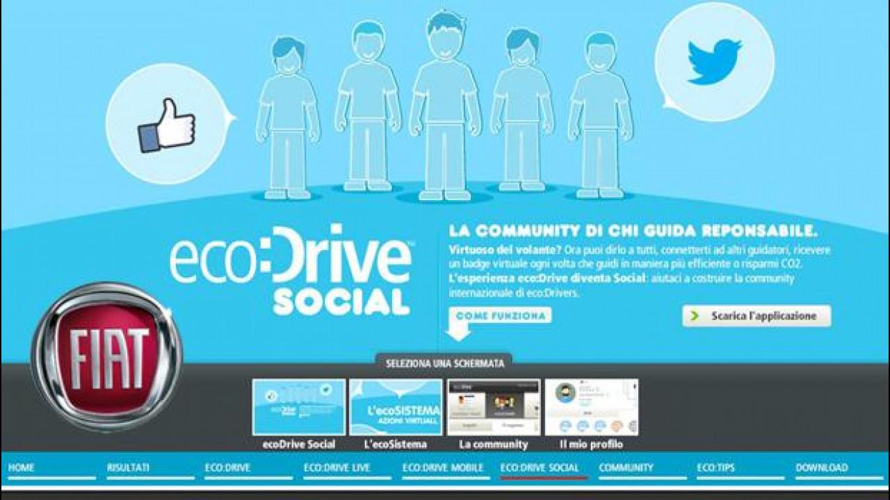 [Copertina] - Fiat eco:Drive è diventato Social