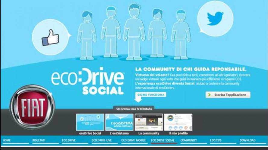 Fiat eco:Drive è diventato Social