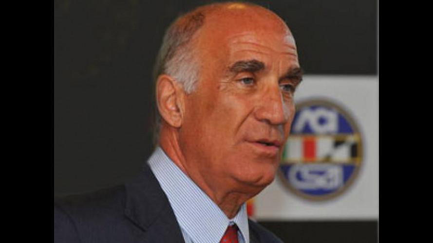 Angelo Sticchi Damiani è vice presidente della Fia