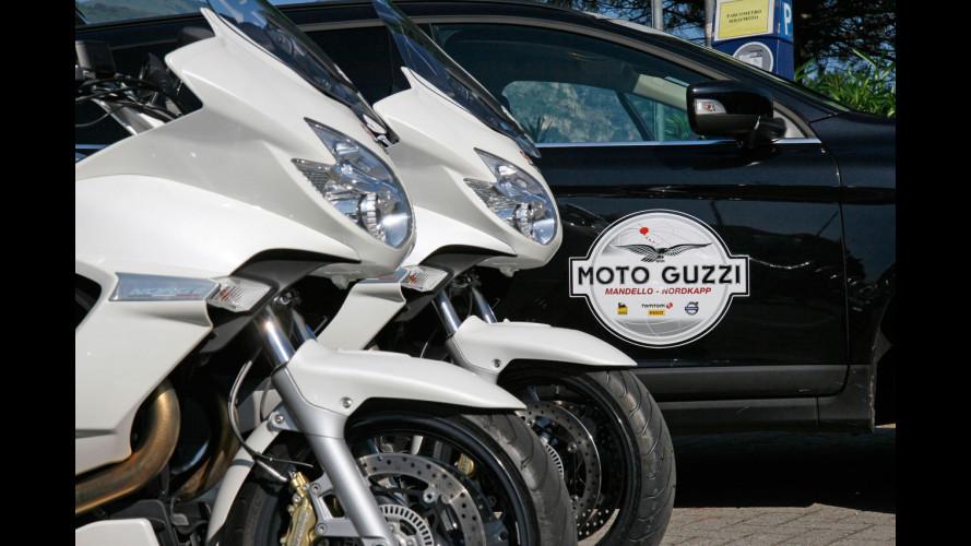 Volvo accompagna Moto Guzzi a Capo Nord
