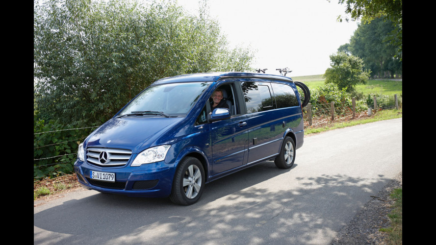 Nuovi Mercedes Euro Sprinter e Viano Marco Polo