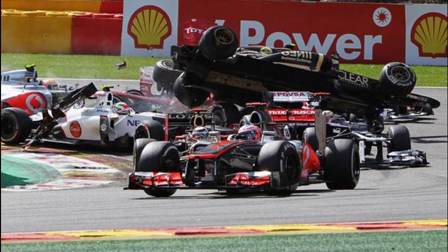 [Copertina] - Formula 1: Grosjean squalificato, salterà il GP d'Italia