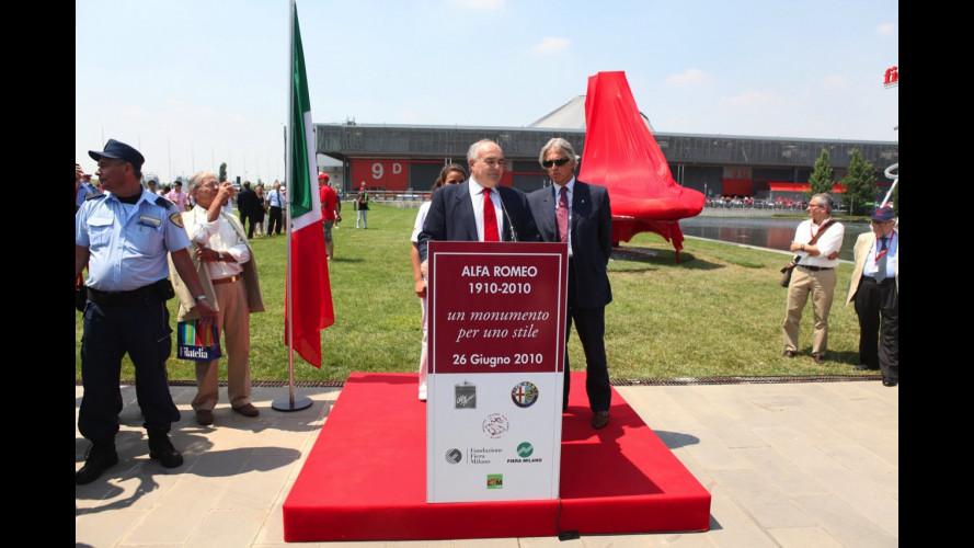 La festa dei 100 anni Alfa Romeo