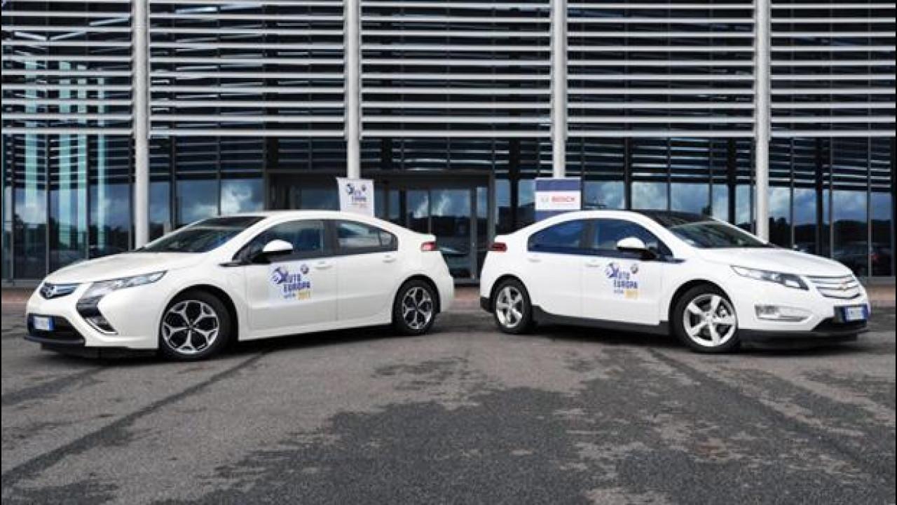 [Copertina] - Opel Ampera e Chevrolet Volt vincono il Green Gold Award 2013
