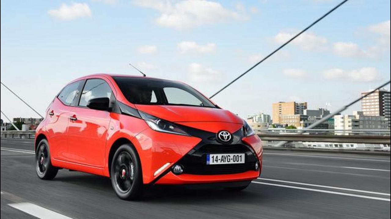 [Copertina] - Nuova Toyota Aygo, si fa notare e consuma poco