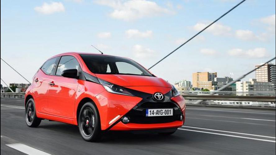 Nuova Toyota Aygo, si fa notare e consuma poco