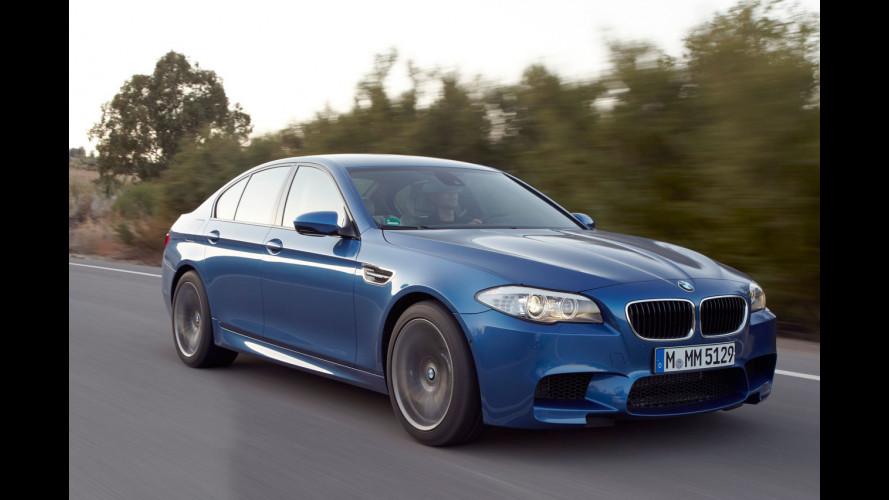 Freni carboceramici per la BMW M5