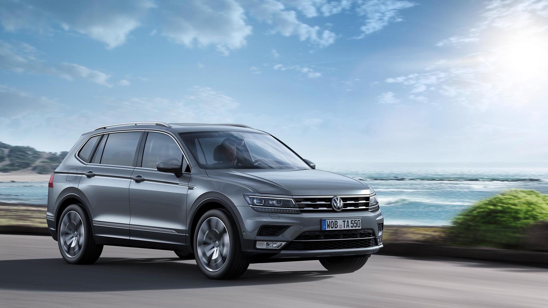 2018 VW Tiguan Allspace: Redesign, Trims, Price >> Vw Tiguan Allspace Arrives In Europe To Spice Up Geneva Motor Show