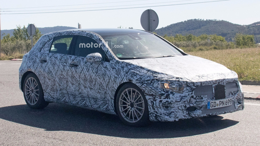 2019 Mercedes-AMG A40 Spied Hiding Sporty Body