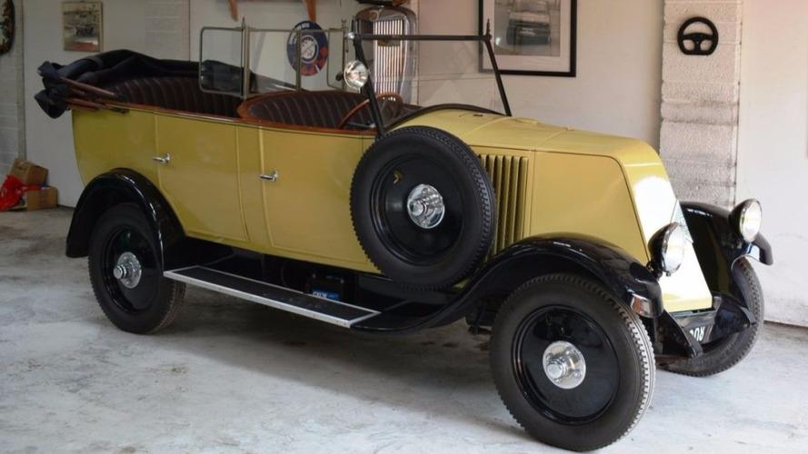 À vendre - Renault de 1928 ayant tourné dans un Indiana Jones