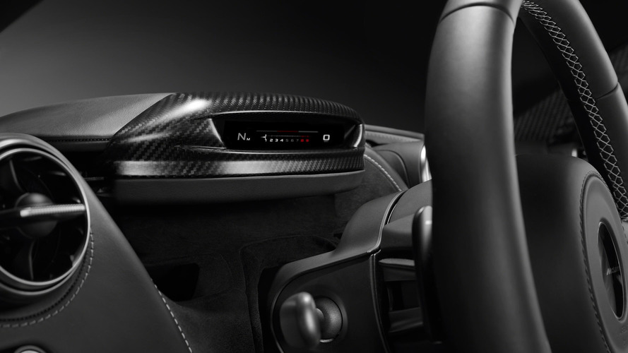 McLaren 720S is part Transformer with folding instrument cluster