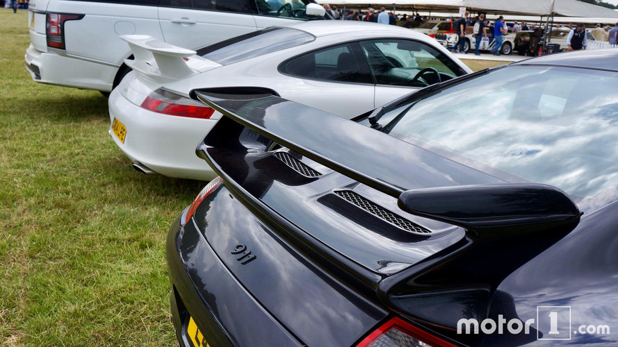 Supercar parking Goodwood Festival of Speed 2017