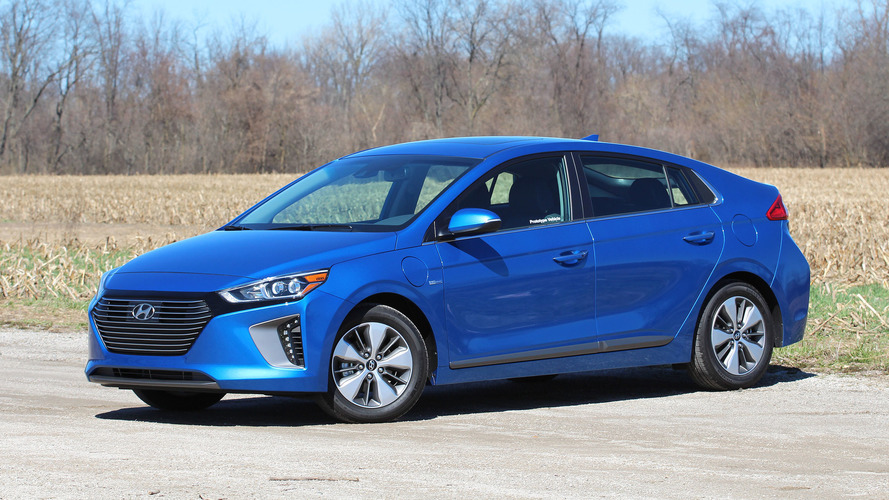2018 Hyundai IONIQ Plug-In Hybrid Priced From $24,950
