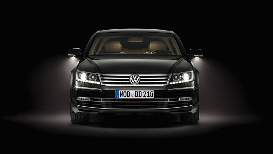 Volkswagen Phaeton (China-spec)