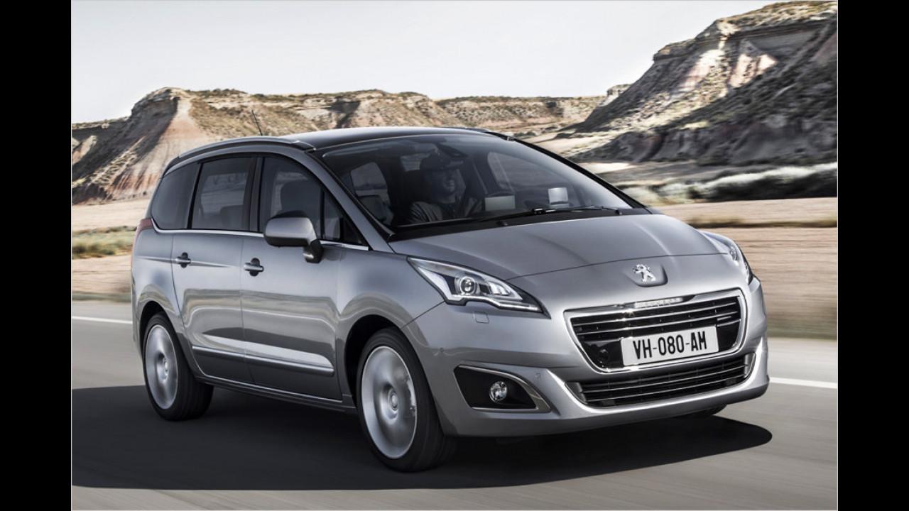 Vans: Peugeot 5008 als stärkster Verlierer