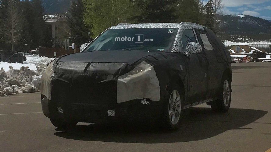 Mystery Chevy CUV Spied Testing In The Mountains