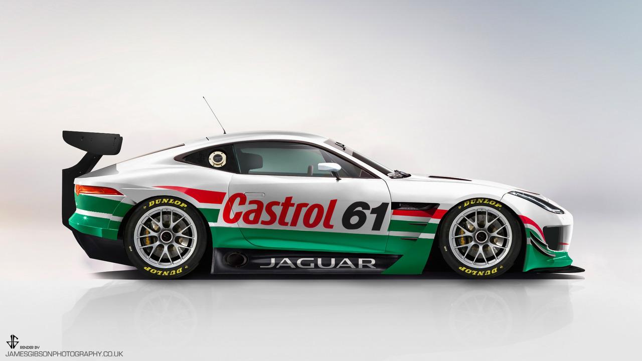 Jaguar F-Type GT3 Concept