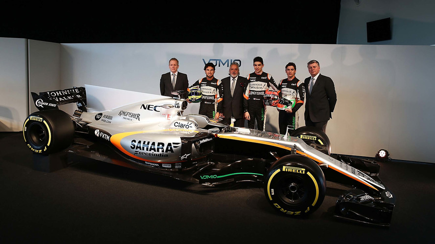 Force India Mercedes VJM10 F1 2017