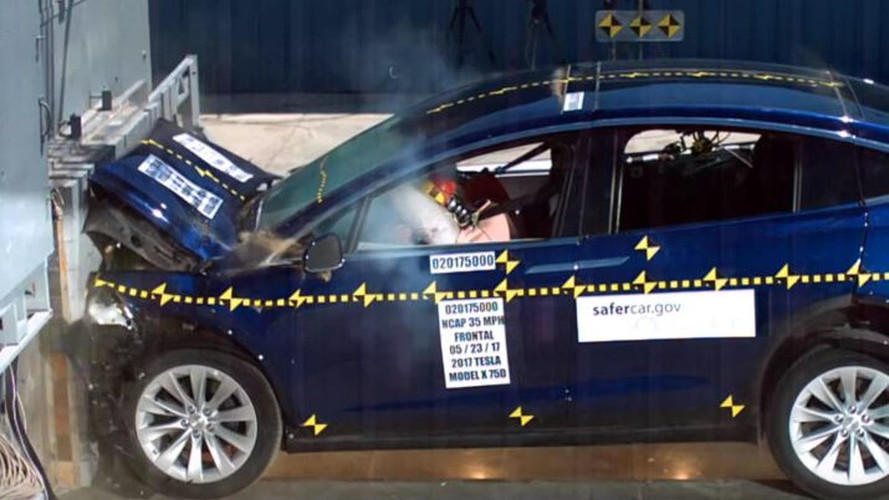 Tesla Model X Crash Tests Complete – 5 Stars In All Categories