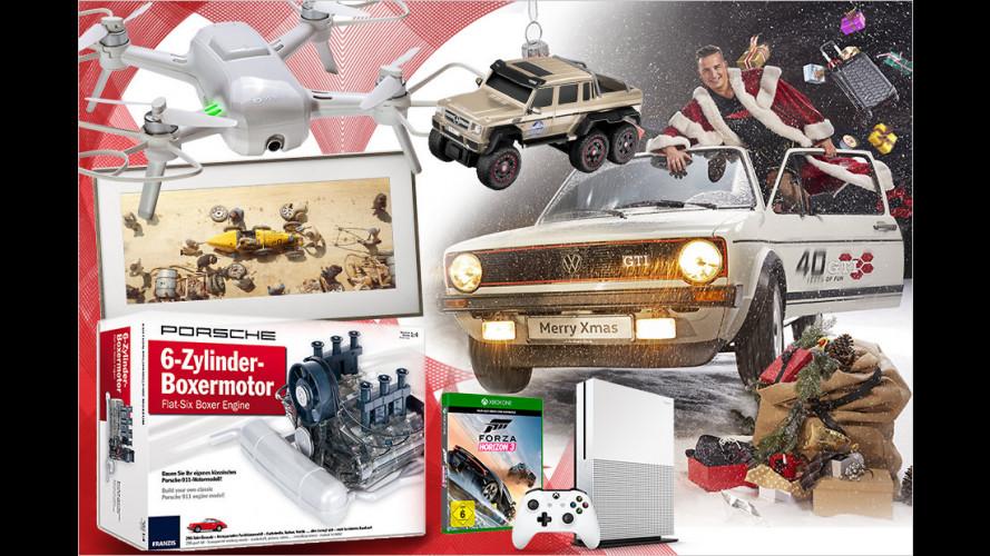 Die besten Weihnachtsgeschenke für Autofans