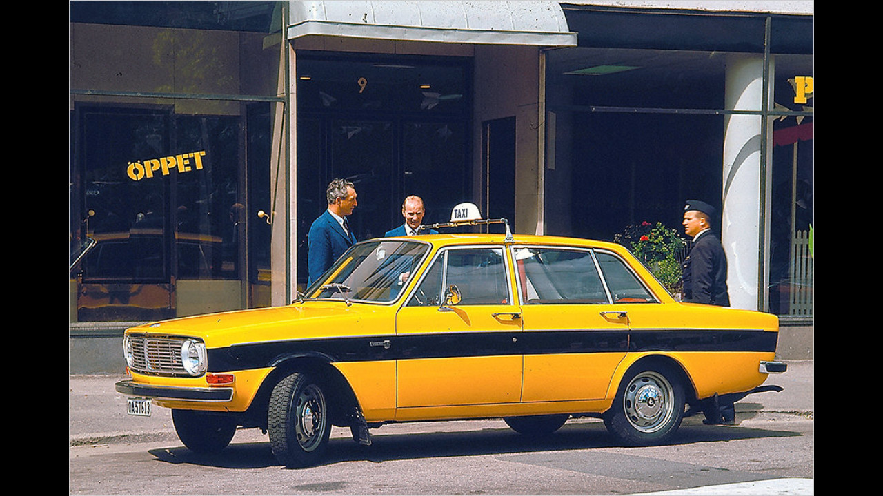 Volvo 144 Taxi (1970)