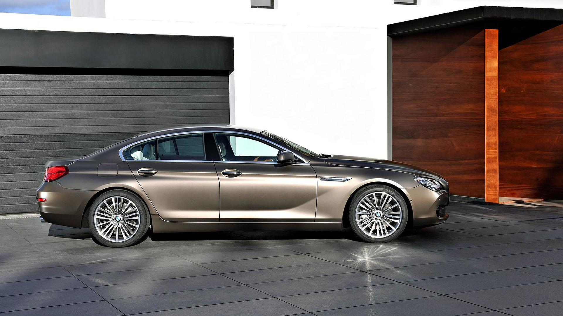6 Series Gran Coupe >> 2012 Bmw 6 Series Gran Coupe Invades Geneva For World Debut
