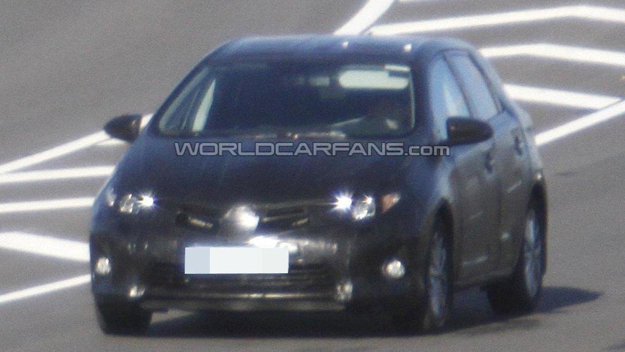 2013 Toyota Auris spied for first time
