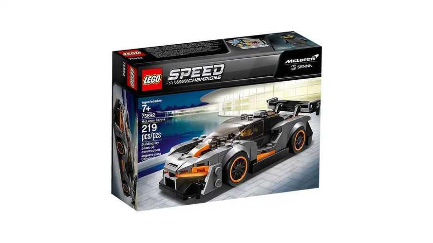 Lego Speed Champions 2019 llega con sorpresas como el Senna o el F40