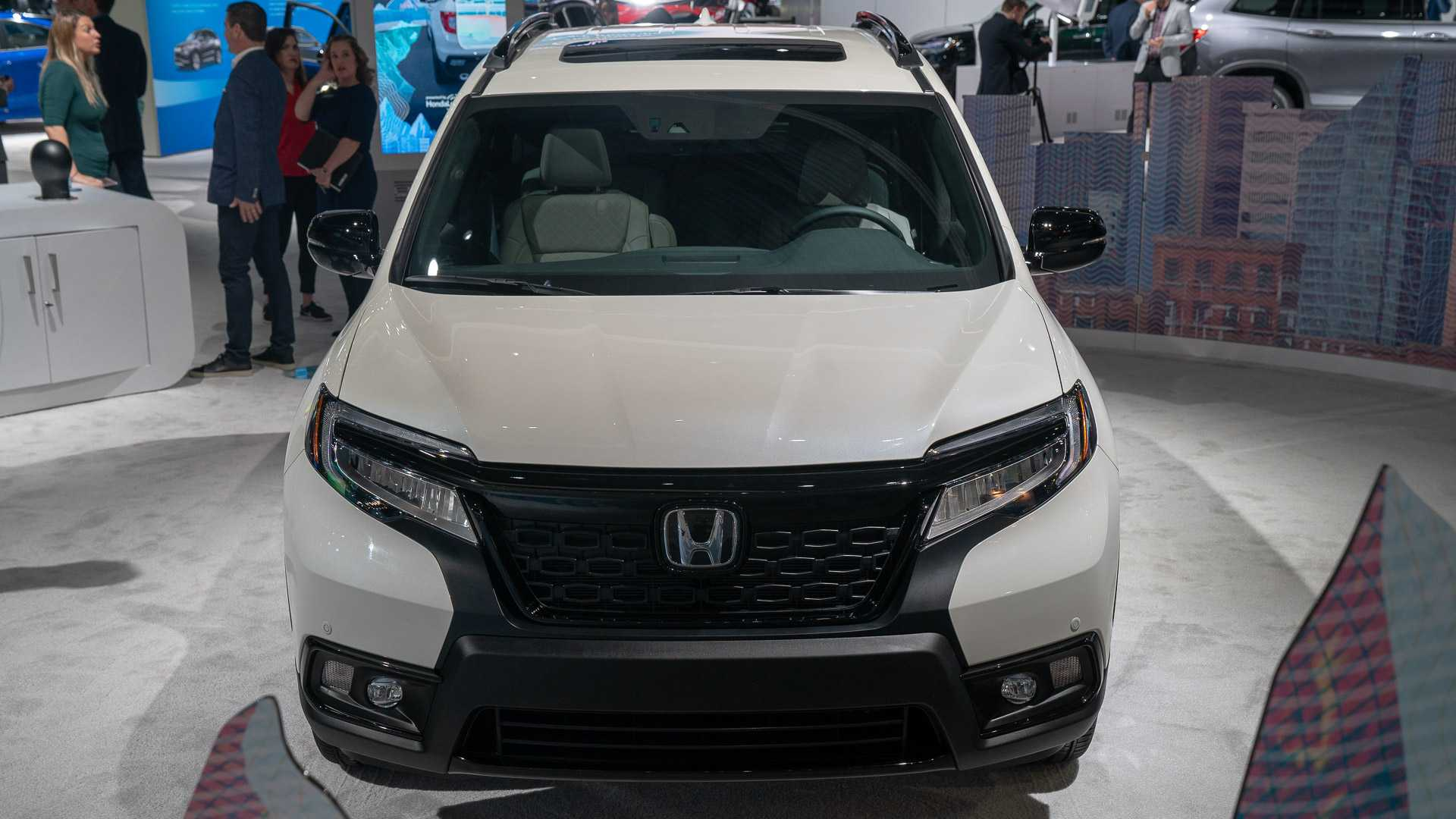 2019 Honda Passport Live From The La Auto Show